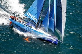 vestas in the race